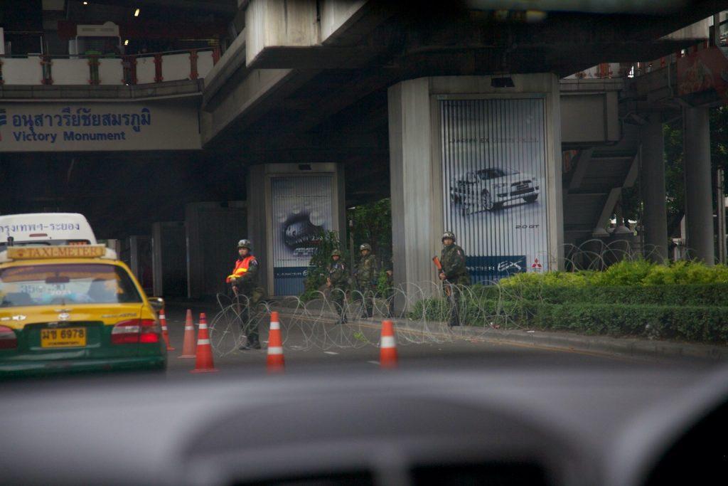 Bangkok rivolta delle camicie rosse