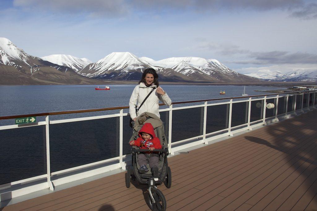 Svalbard con bambini