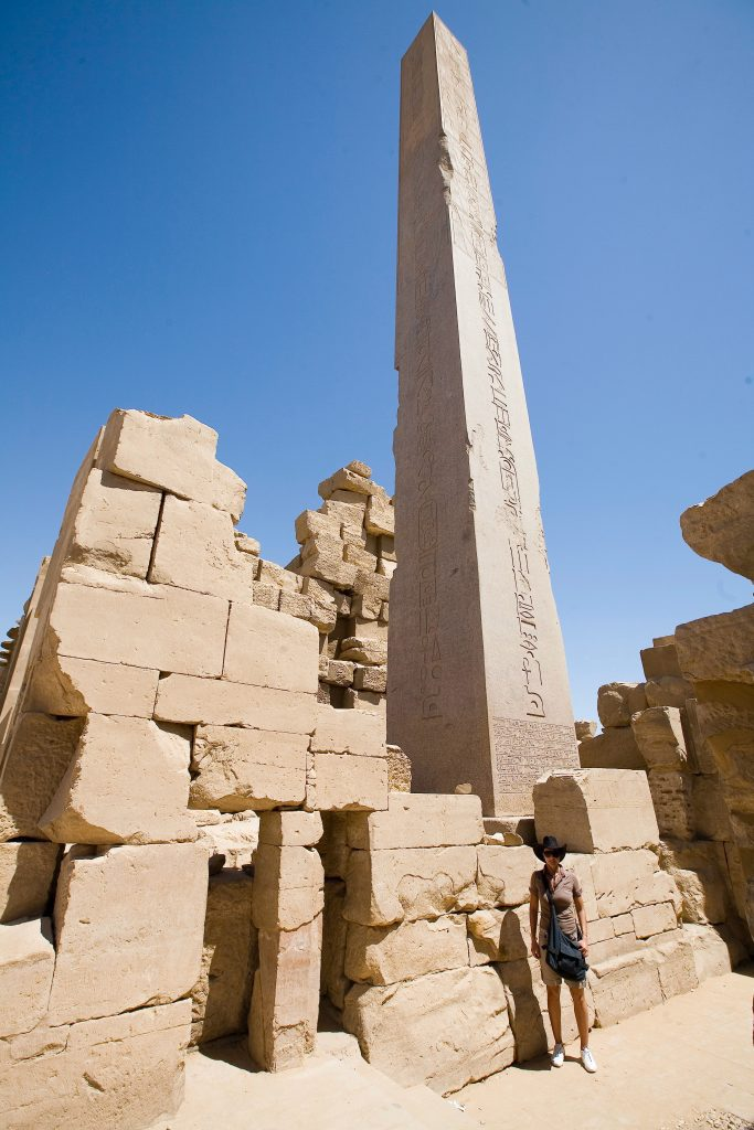 Obelisco a Karnak