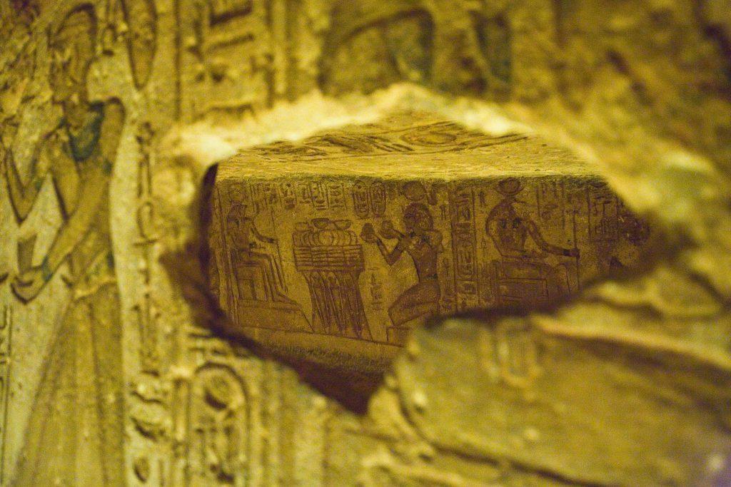 interno tempio Abu Simbel
