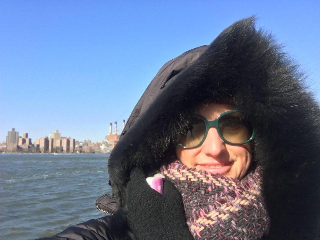 in attesa del l ferry a New York