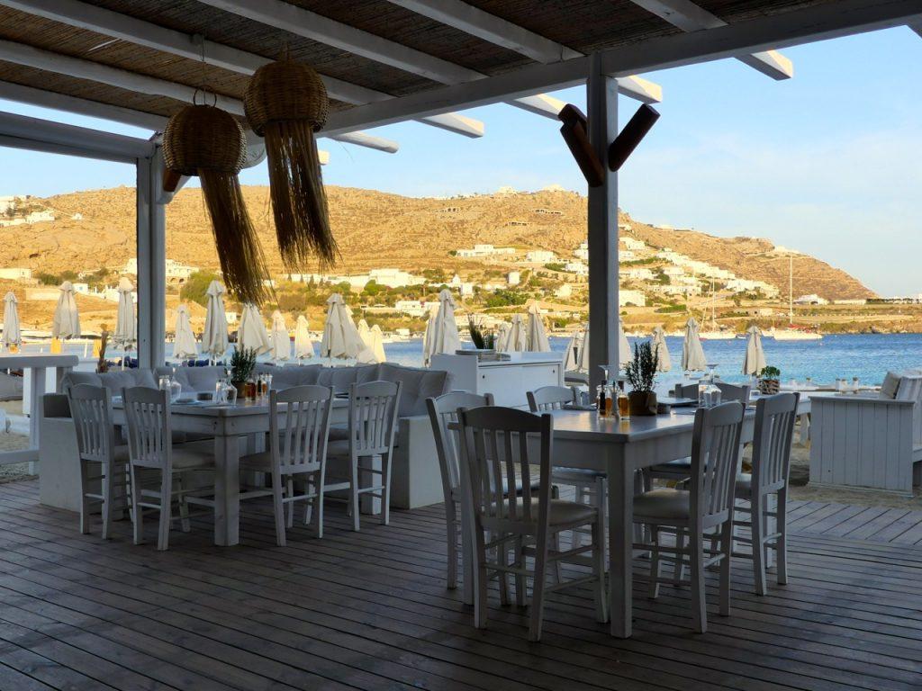 Ristorante sul mare - Grecia