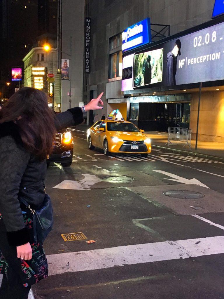 chiamare un taxi a New York