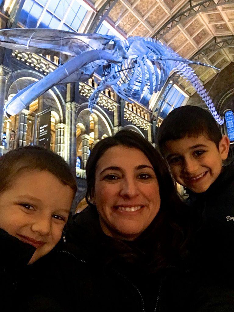 Viaggio con bambini al Museo di Storia Naturale