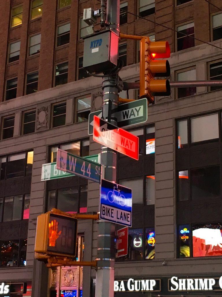 incrocio a New York