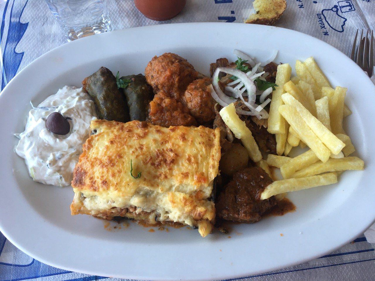 Piatti della cucina greca