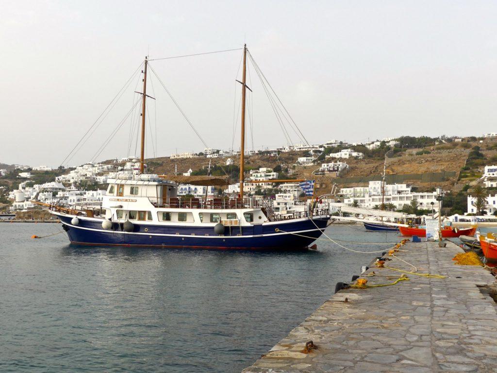 Porticciolo a Chora Mykonos