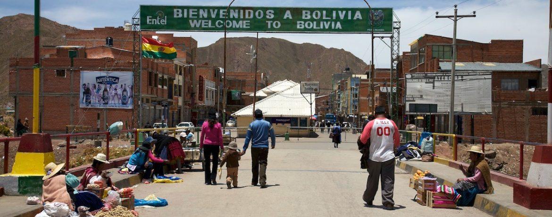 confine Perù - Bolivia