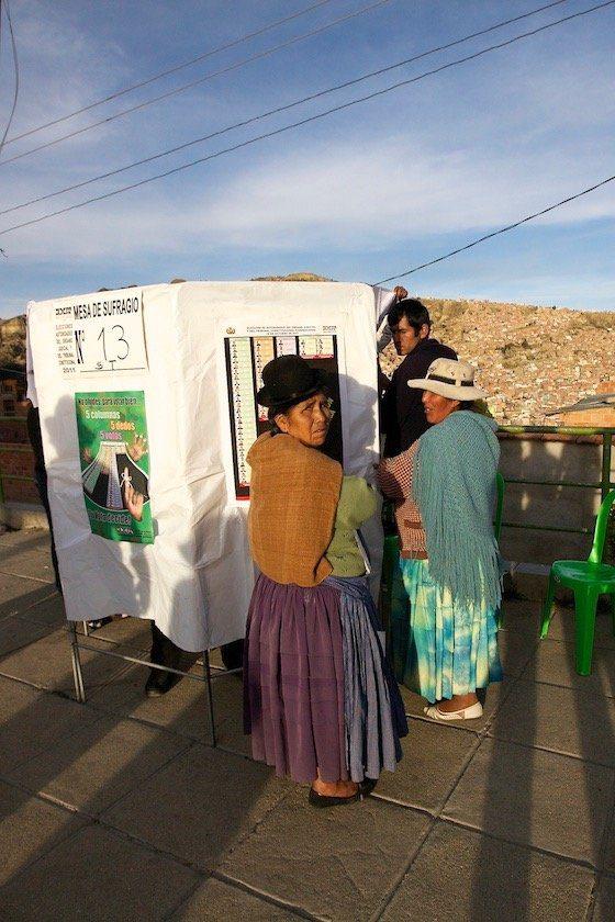 La Paz elezioni corte di Giustizia