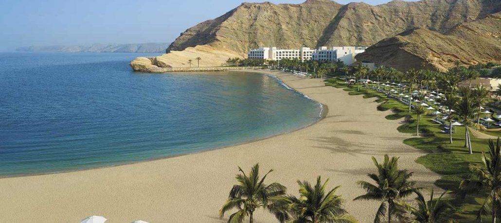 spiaggia in Oman